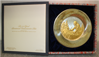 The Official 1976 Bicentennial Year Commemorative Plate, John Hancock   (Franklin Mint)