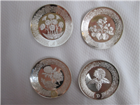 The Floral Alphabet Miniature Plate Collection  (Franklin Mint, 1978)