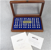 The White House Historical Association's Presidents and First Ladies Mini-Coin Collection   (Franklin Mint, 1977)