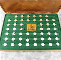 Pro Football's Immortals Sterling Mini-Coins Collection (Franklin Mint, 1976)