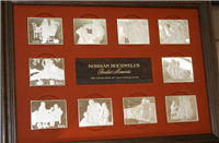 Norman Rockwell's Fondest Memories Ingot Collection  (Franklin Mint, 1973)