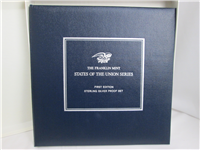 The States of the Union First Edition Sterling Silver Proof Set (Franklin Mint, 1969)