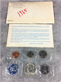 1965 SPECIAL MINT COIN SET 40% Silver Kenney Half Dollar (US Mint, 1965)